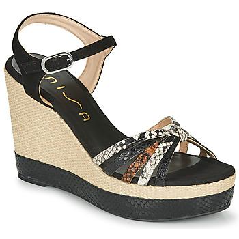 Παπούτσια Γυναίκα Σανδάλια / Πέδιλα Unisa MIRELLA Black