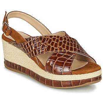 Παπούτσια Γυναίκα Σανδάλια / Πέδιλα Unisa KASTRO Camel