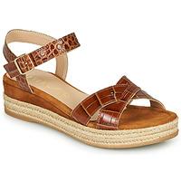 Παπούτσια Γυναίκα Σανδάλια / Πέδιλα Unisa GRANADA Camel