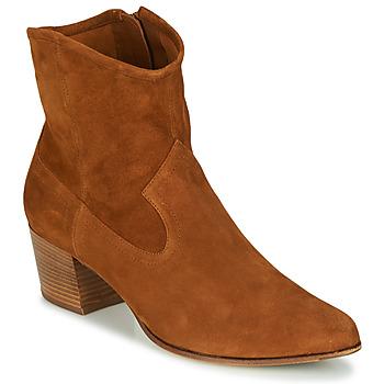 Παπούτσια Γυναίκα Μποτίνια Unisa GALVEZ Camel