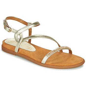 Παπούτσια Γυναίκα Σανδάλια / Πέδιλα Unisa CLARIS Gold