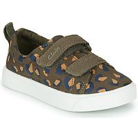Παπούτσια Κορίτσι Χαμηλά Sneakers Clarks CITY BRIGHT T Kaki