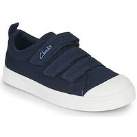 Παπούτσια Παιδί Χαμηλά Sneakers Clarks CITY VIBE K Marine