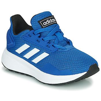 Παπούτσια Παιδί Χαμηλά Sneakers adidas Originals DURAMO 9 K Μπλέ