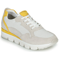 Παπούτσια Γυναίκα Χαμηλά Sneakers Marco Tozzi 2-23754 Άσπρο / Yellow