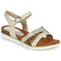 Παπούτσια Γυναίκα Σανδάλια / Πέδιλα Marco Tozzi 2-28410 Beige