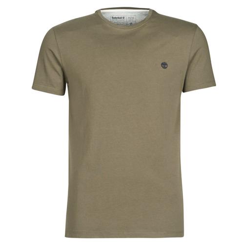 Υφασμάτινα Άνδρας T-shirt με κοντά μανίκια Timberland SS DUNSTAN RIVER CREW TEE Kaki