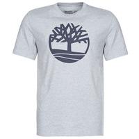 Υφασμάτινα Άνδρας T-shirt με κοντά μανίκια Timberland SS KENNEBEC RIVER BRAND TREE TEE Grey