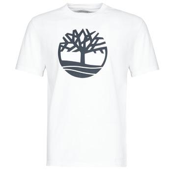 Υφασμάτινα Άνδρας T-shirt με κοντά μανίκια Timberland SS KENNEBEC RIVER BRAND TREE TEE Άσπρο