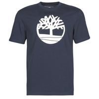 Υφασμάτινα Άνδρας T-shirt με κοντά μανίκια Timberland SS KENNEBEC RIVER BRAND TREE TEE Marine
