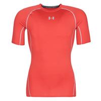 Υφασμάτινα Άνδρας T-shirt με κοντά μανίκια Under Armour UA HEATGEAR ARMOUR Red
