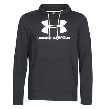 Υφασμάτινα Άνδρας Φούτερ Under Armour SPORTSTYLE TERRY LOGO HOODIE Black