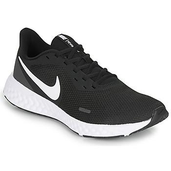 Παπούτσια Άνδρας Τρέξιμο Nike REVOLUTION 5 Black / Άσπρο