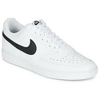 Παπούτσια Άνδρας Χαμηλά Sneakers Nike COURT VISION LOW Άσπρο / Black