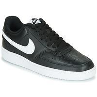 Παπούτσια Γυναίκα Χαμηλά Sneakers Nike COURT VISION LOW Black / Άσπρο