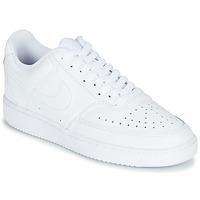 Παπούτσια Γυναίκα Χαμηλά Sneakers Nike COURT VISION LOW Άσπρο