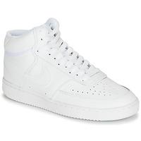 Παπούτσια Γυναίκα Χαμηλά Sneakers Nike COURT VISION MID Άσπρο