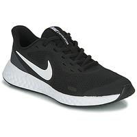 Παπούτσια Παιδί Multisport Nike REVOLUTION 5 GS Black / Άσπρο