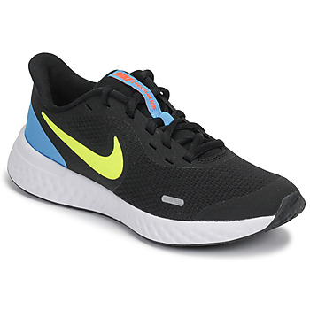 Παπούτσια Αγόρι Multisport Nike REVOLUTION 5 GS Black / Yellow / Μπλέ