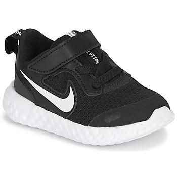 Παπούτσια Παιδί Multisport Nike REVOLUTION 5 TD Black / Άσπρο