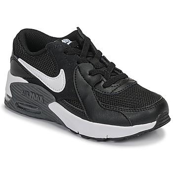 Παπούτσια Παιδί Χαμηλά Sneakers Nike AIR MAX EXCEE PS Black / Άσπρο