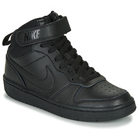 Παπούτσια Παιδί Ψηλά Sneakers Nike COURT BOROUGH MID 2 GS Black