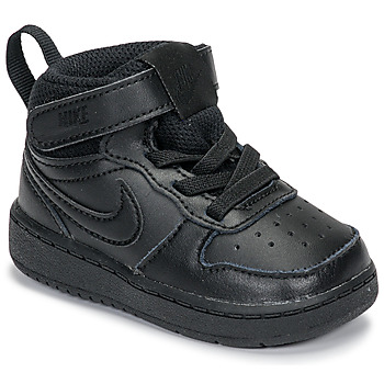 Παπούτσια Παιδί Ψηλά Sneakers Nike COURT BOROUGH MID 2 TD Black