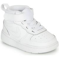 Παπούτσια Παιδί Ψηλά Sneakers Nike COURT BOROUGH MID 2 TD Άσπρο