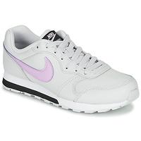 Παπούτσια Κορίτσι Χαμηλά Sneakers Nike MD RUNNER GS Άσπρο / Ροζ