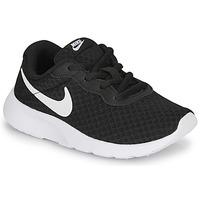 Παπούτσια Παιδί Χαμηλά Sneakers Nike TANJUN PS Black / Άσπρο