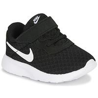 Παπούτσια Παιδί Χαμηλά Sneakers Nike TANJUN TD Black / Άσπρο