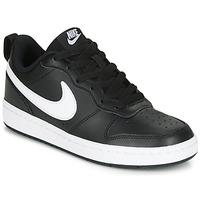 Παπούτσια Παιδί Χαμηλά Sneakers Nike COURT BOROUGH LOW 2 GS Black / Άσπρο