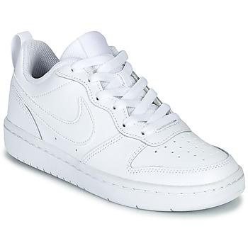 Παπούτσια Παιδί Χαμηλά Sneakers Nike COURT BOROUGH LOW 2 GS Άσπρο