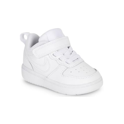 Παπούτσια Παιδί Χαμηλά Sneakers Nike COURT BOROUGH LOW 2 TD Άσπρο