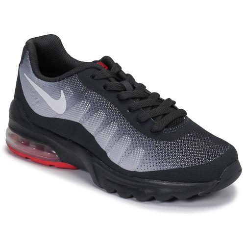 Παπούτσια Παιδί Χαμηλά Sneakers Nike AIR MAX INVIGOR GS Black / Red