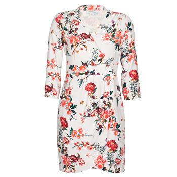 Υφασμάτινα Γυναίκα Κοντά Φορέματα Morgan REGARD Beige