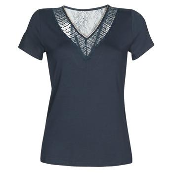 Υφασμάτινα Γυναίκα T-shirt με κοντά μανίκια Morgan DOHAN Marine
