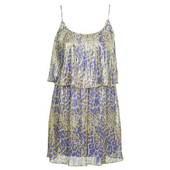Υφασμάτινα Γυναίκα Κοντά Φορέματα Marciano LIQUID LEOPARD DRESS Multicolour