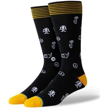 Αξεσουάρ Άνδρας Κάλτσες Stance Robot peace Μαύρο