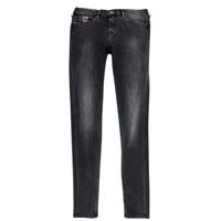 Υφασμάτινα Κορίτσι Skinny Τζιν  Pepe jeans PAULETTE Black