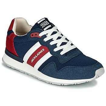Παπούτσια Άνδρας Χαμηλά Sneakers Jack & Jones STELLAR MECH Marine / Red