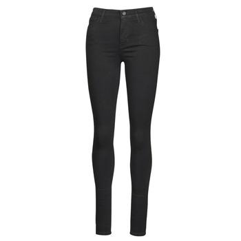 Υφασμάτινα Γυναίκα Skinny jeans Levi's 720 HIRISE SUPER SKINNY Black