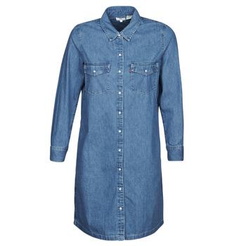 Υφασμάτινα Γυναίκα Κοντά Φορέματα Levi's SELMA DRESS Going / Steady / (2)