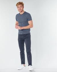 Υφασμάτινα Άνδρας Παντελόνια Πεντάτσεπα Levi's 511™ SLIM FIT Marine