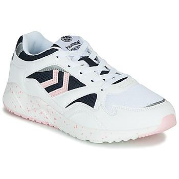 Παπούτσια Γυναίκα Χαμηλά Sneakers Hummel EDMONTON Άσπρο