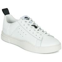 Παπούτσια Άνδρας Χαμηλά Sneakers Diesel S-CLEVER LOW Άσπρο