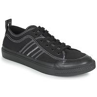 Παπούτσια Άνδρας Χαμηλά Sneakers Diesel S-ASTICO LOW Black / Άσπρο