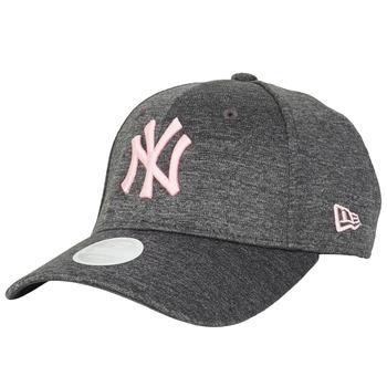Αξεσουάρ Γυναίκα Κασκέτα New-Era ESSENTIAL 9FORTY NEW YORK YANKEES Grey / Ροζ