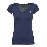 Υφασμάτινα Γυναίκα T-shirt με κοντά μανίκια G-Star Raw EYBEN SLIM V T WMN SS Μπλέ