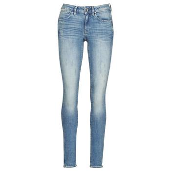 Υφασμάτινα Γυναίκα Skinny jeans G-Star Raw MIDGE ZIP MID SKINNY WMN Μπλέ